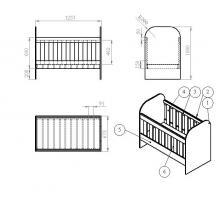 как сделать детскую кроватку своими руками с инструкцией и фото - фото 6