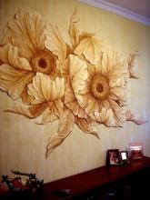 Лепнина на стенах в интерьере