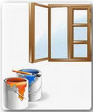Как покрасить деревянные двери и окна своими руками